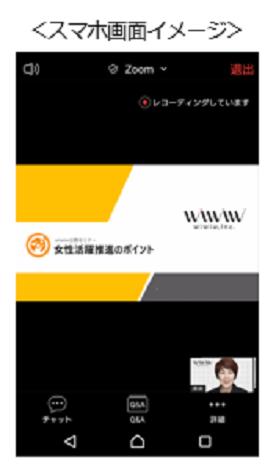 受講のイメージ図、画面表示の写真